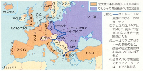 East_west_europe_map